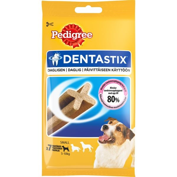 Hundtugg  DentaStix Small 110 g Pedigree