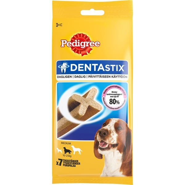 Hundtugg  DentaStix Medium 180 g Pedigree