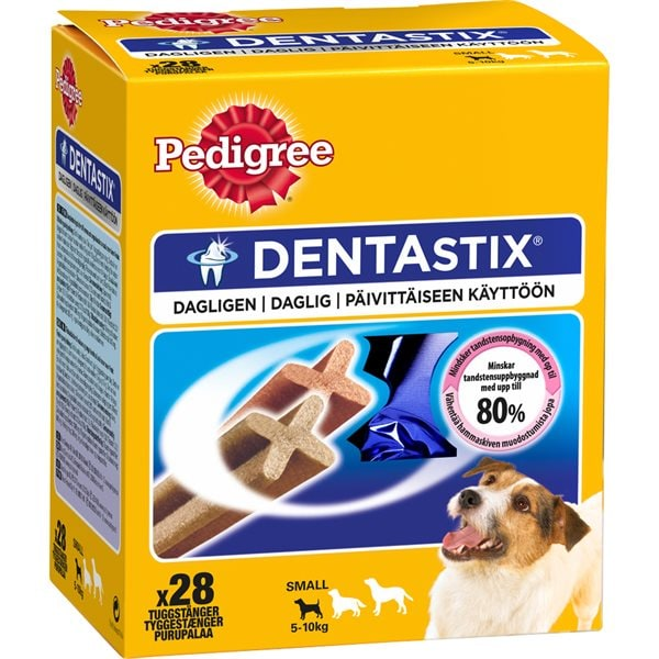 Hundtugg 28-pack DentaStix Small Pedigree