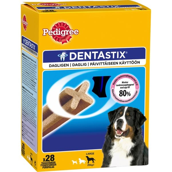 Hundtugg 28-pack DentaStix Large Pedigree