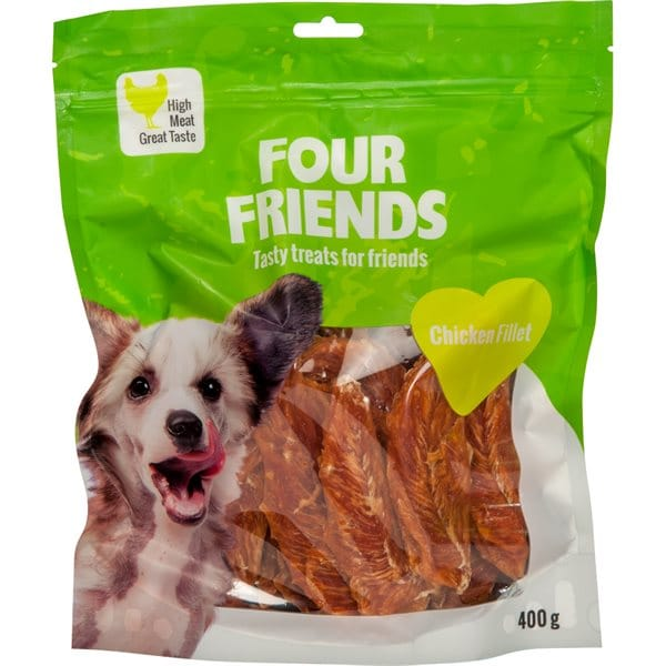 Hundgodis  Chicken Fillet 400 g FourFriends