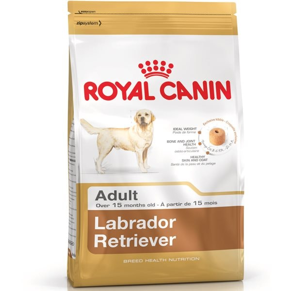 Torrfoder Hund  Labrador Retriever Adult 12 kg Royal Canin