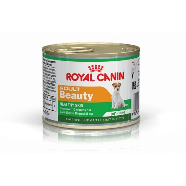 Våtfoder Hund  Adult Beauty 195 g Royal Canin