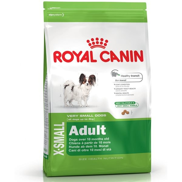 Torrfoder Hund  X-small Mini Adult 3 kg Royal Canin