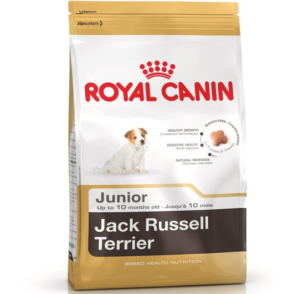Torrfoder Hund  JACK RUSSEL TERRIER JUNIOR 3 kg Royal Canin