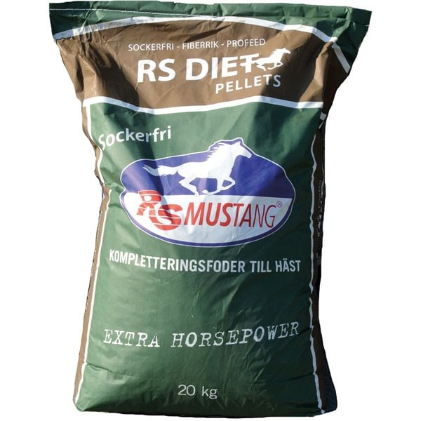 20 kg Diet Pellets RS Mustang