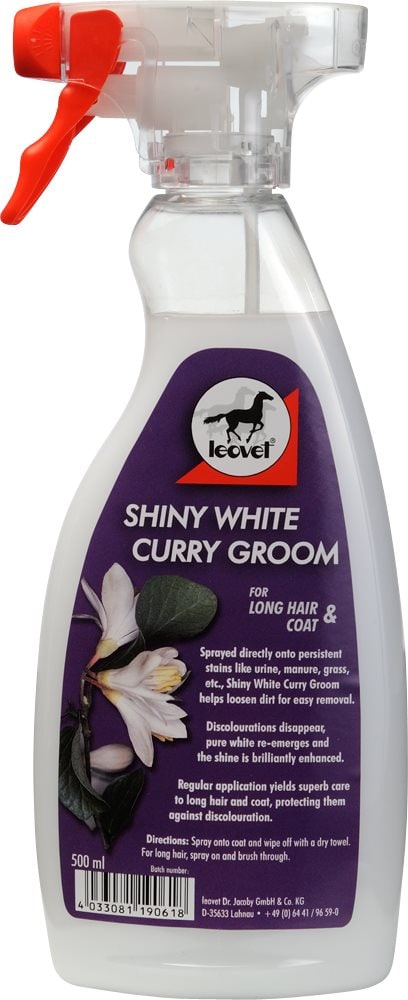 Sprayschampo  Shiny white curry groom leovet®