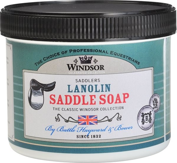 Lädertvål  Lanolin Saddle Soap Windsor®