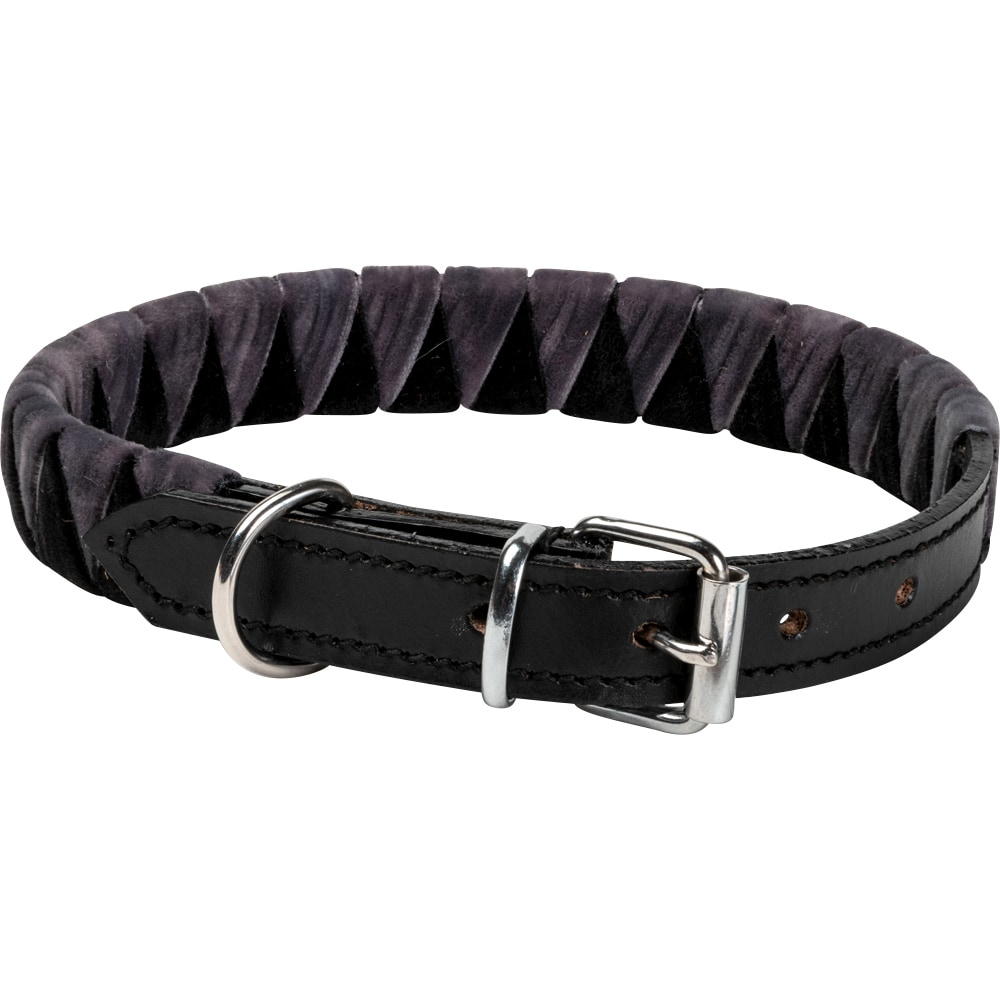 Halsband Läder Shark tooth Showmaster®