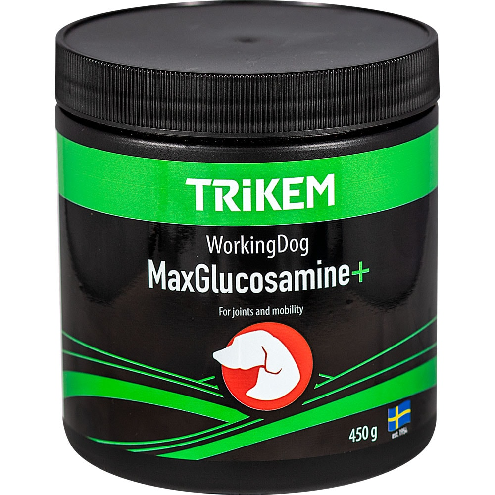 Tillskott  Working Dog Max Glucosamin + Trikem