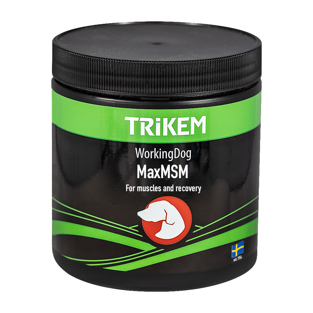 Tillskott  Working Dog Max MSM + Trikem