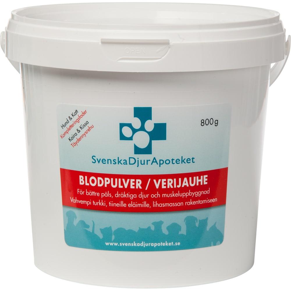 Tillskott  Blodpulver Svenska Djurapoteket