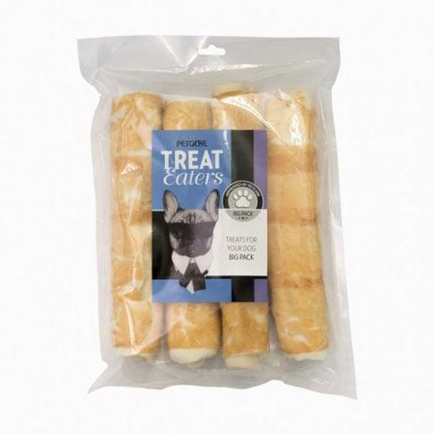 Hundtugg 4-pack Chicken Roll Treateaters