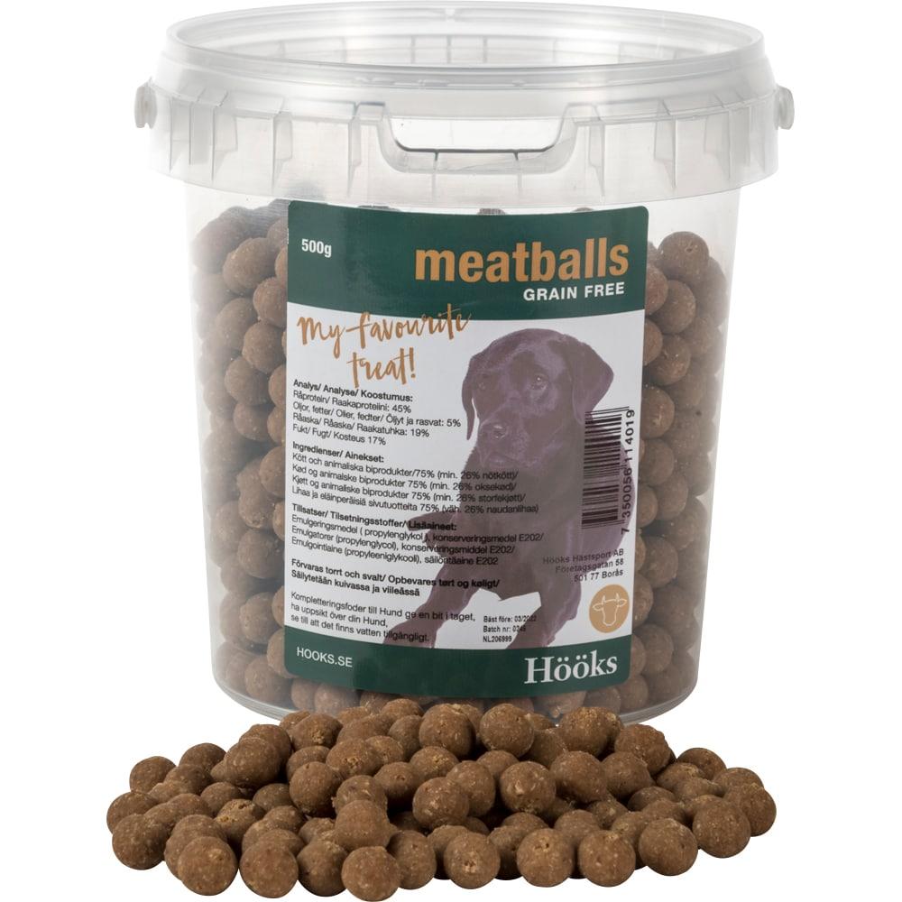 Hundgodis  Meatballs Hööks