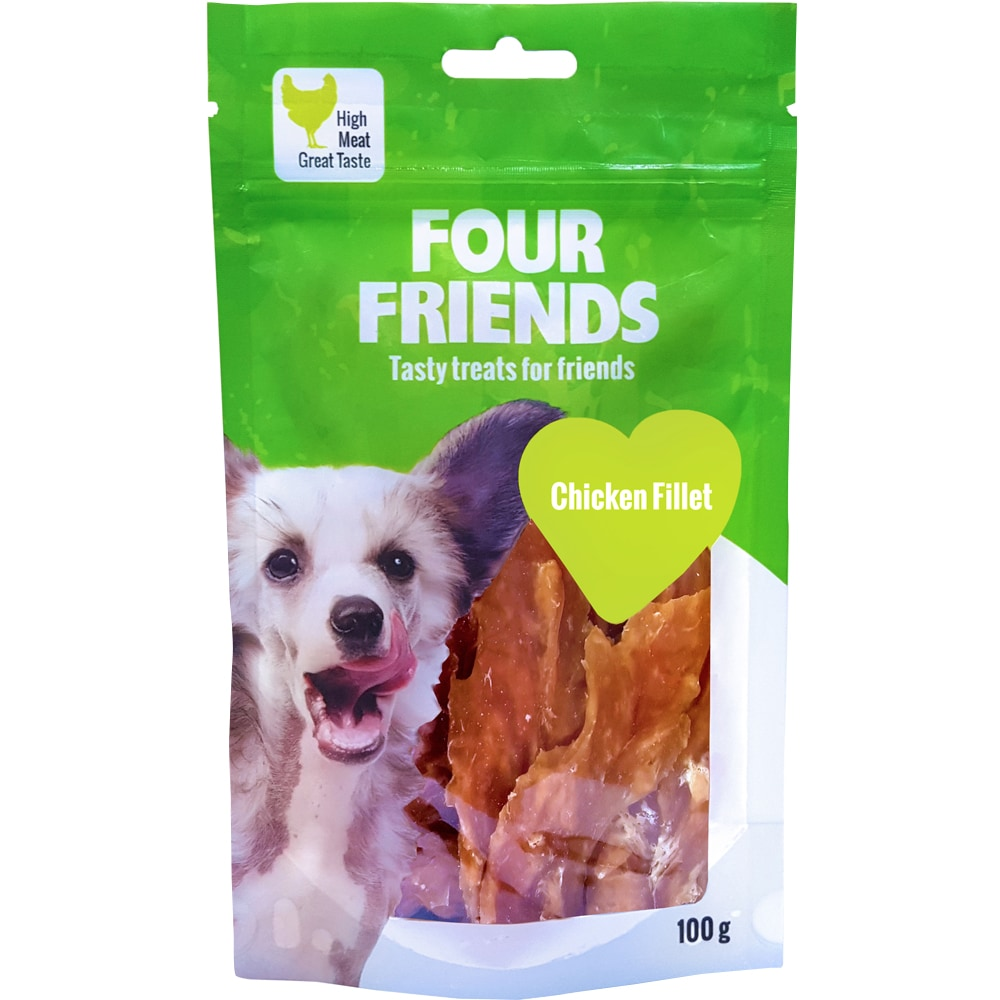 Hundgodis  Chicken Fillet 100 g FourFriends