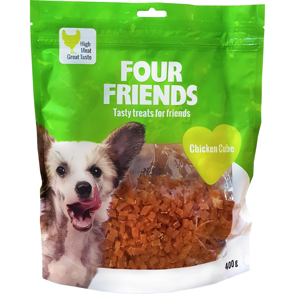 Hundgodis  Chicken Cube 400 g FourFriends