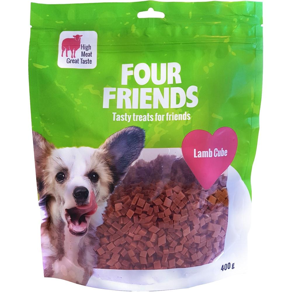 Hundgodis  Lamb Cube 400 g FourFriends