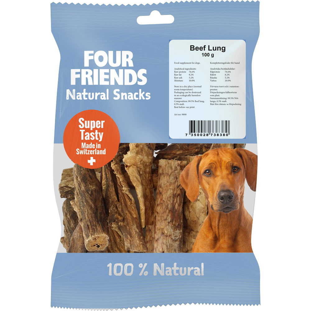 Naturtugg  Beef Lung 100 g FourFriends