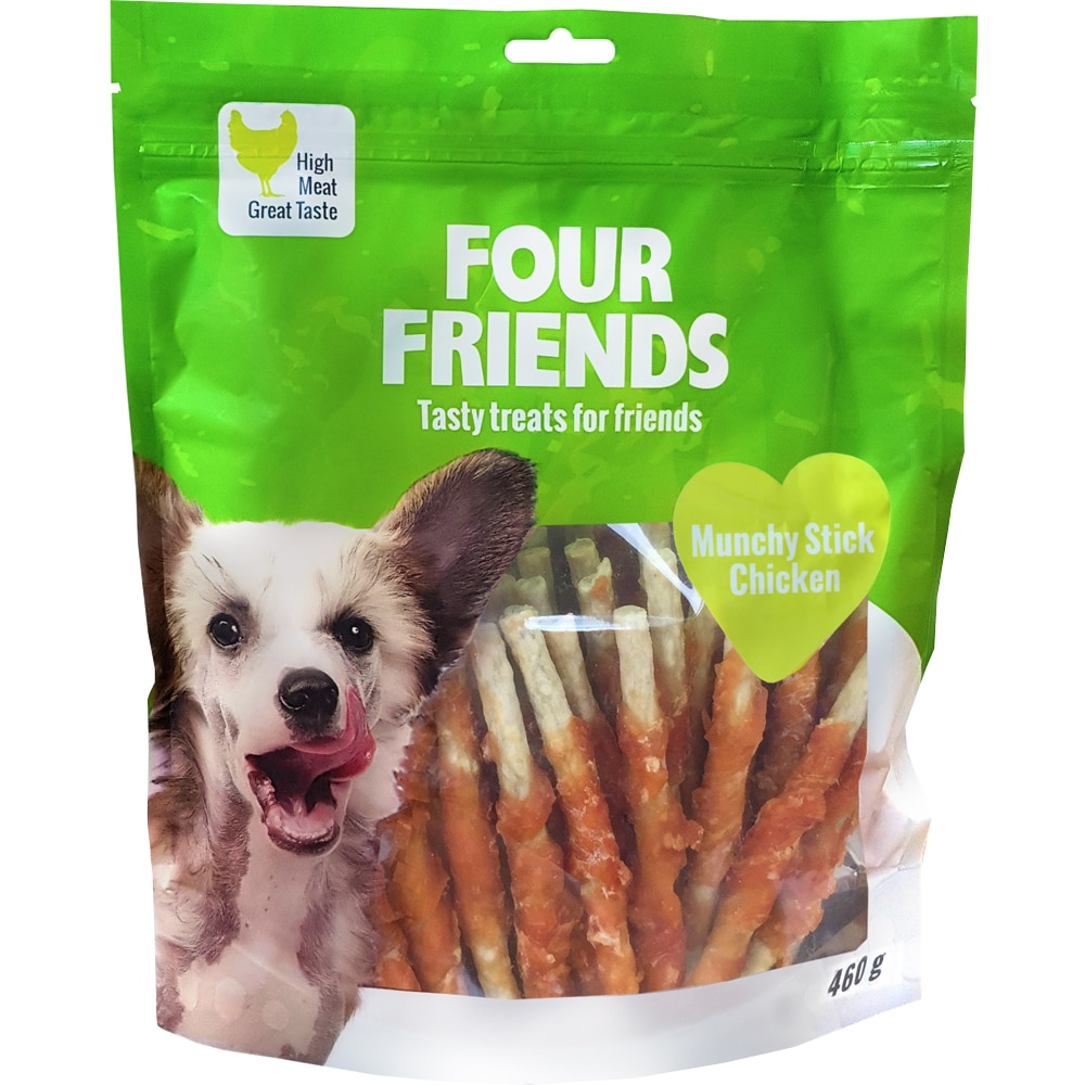 Hundtugg  Munchy Stick Chicken 460g FourFriends