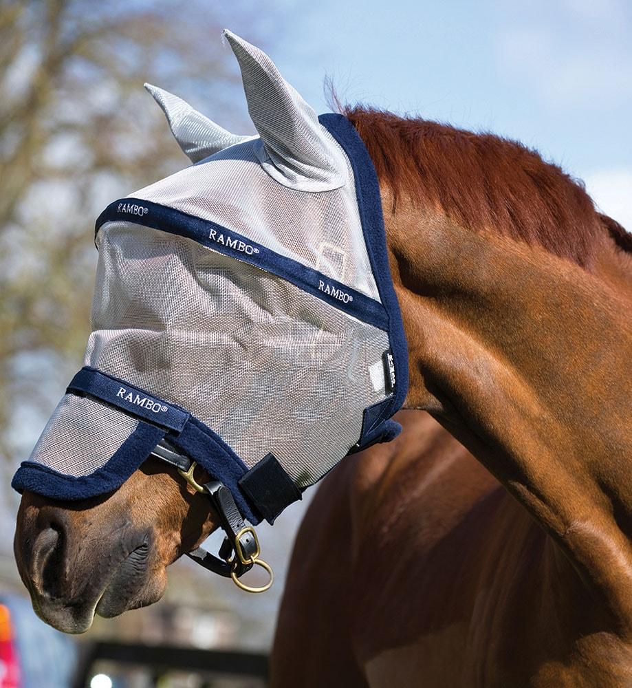 Flughuva  Rambo® Plus Horseware®