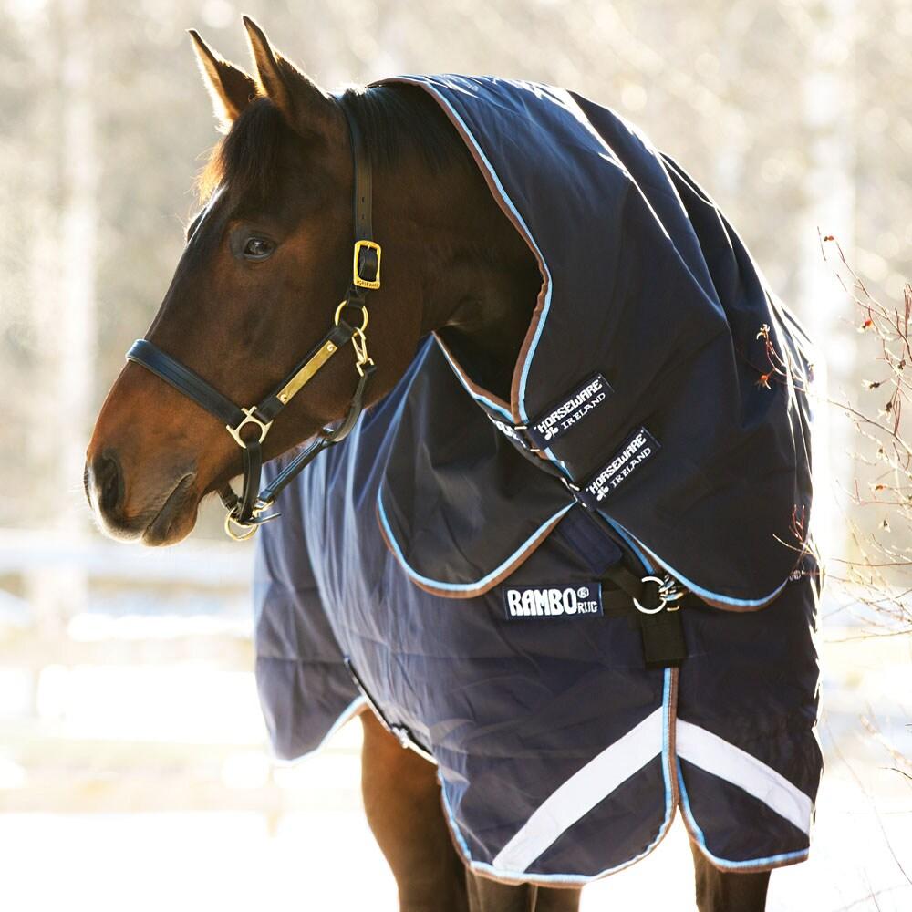 Vintertäcke med hals Rambo Duo Horseware®
