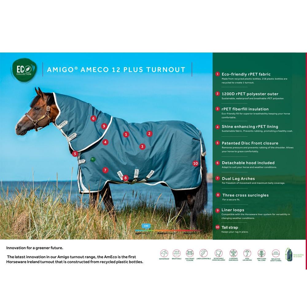 Regntäcke  AmEco Horseware®