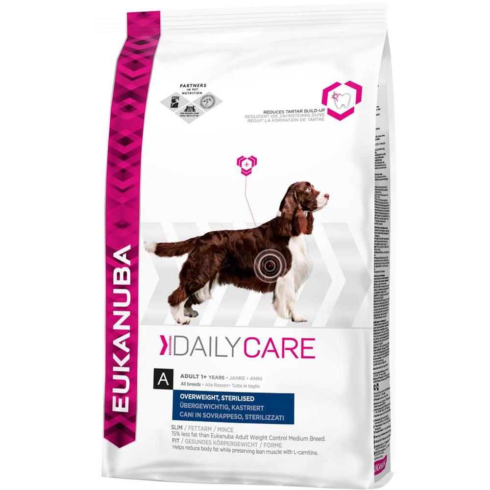 Torrfoder Hund  Overweight / Sterilised 12,5 kg Eukanuba