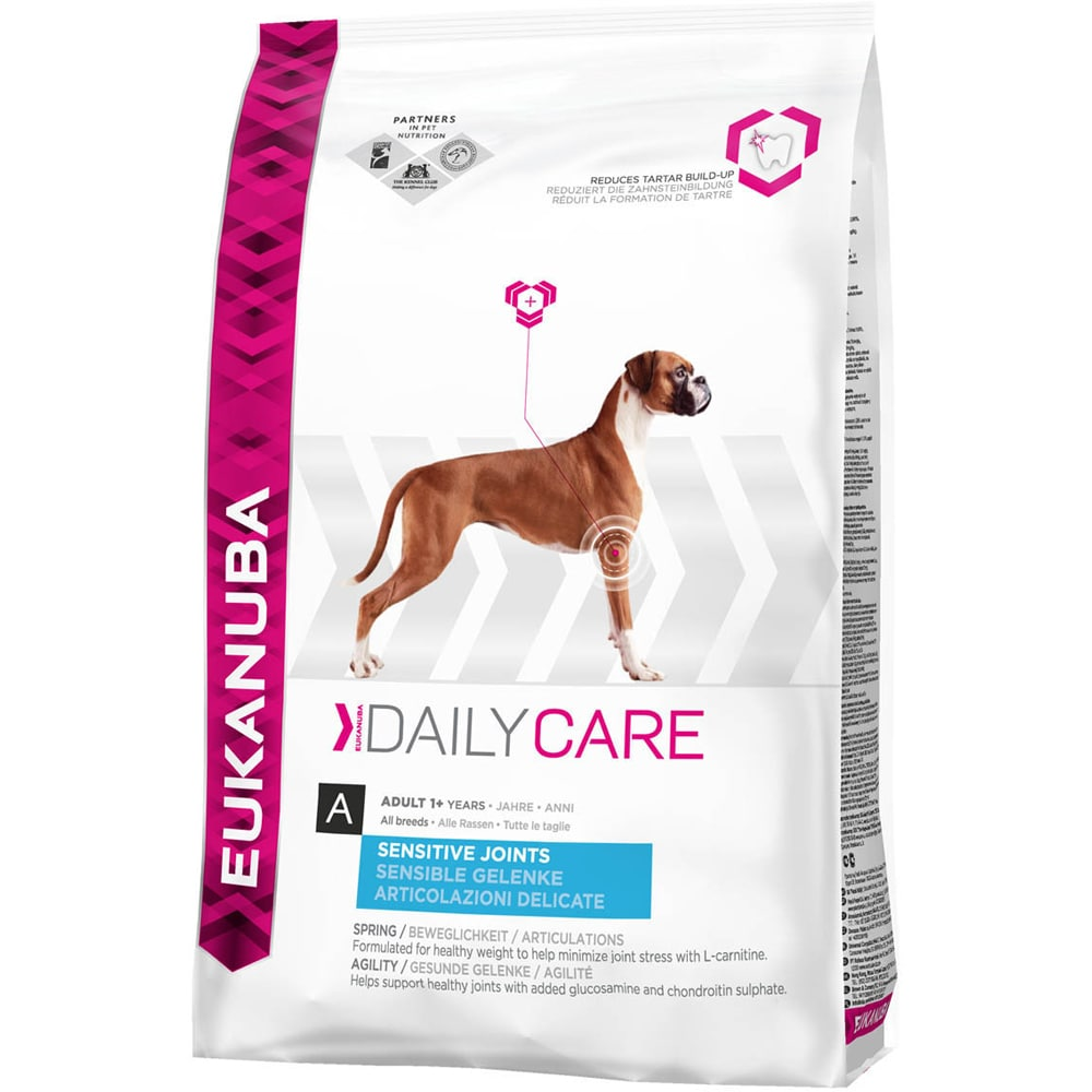 Torrfoder Hund  Sensitive Joints 12,5 kg Eukanuba