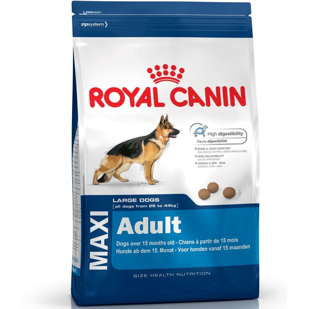 Torrfoder Hund  Maxi Adult 15 kg Royal Canin