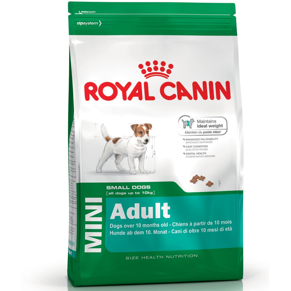 Torrfoder Hund  Mini Adult 8 kg Royal Canin