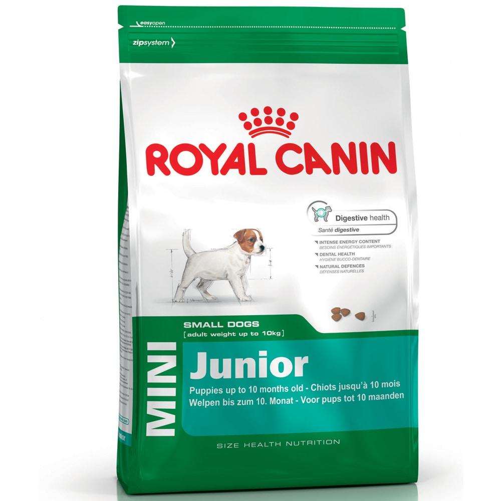 Torrfoder Hund  Mini Junior 4 kg Royal Canin