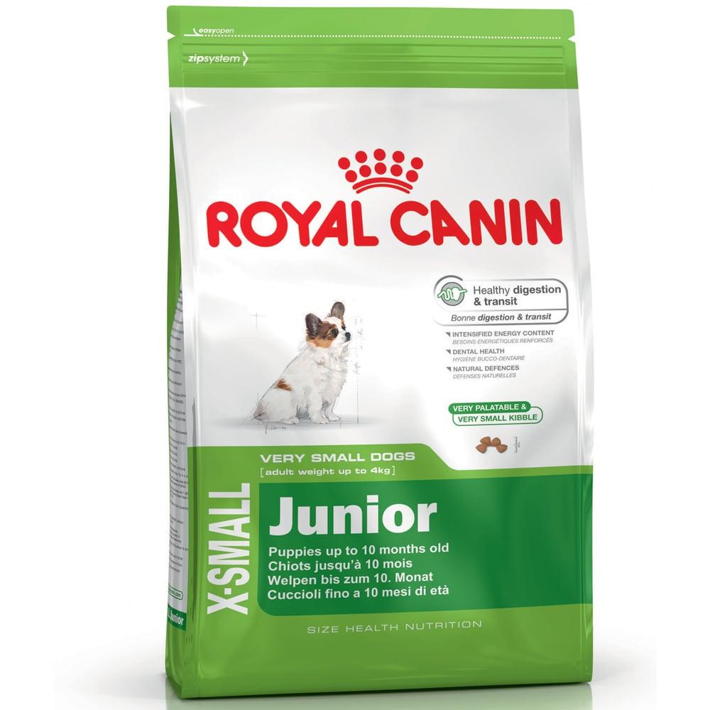 Torrfoder Hund  X-Small Junior 3 kg Royal Canin