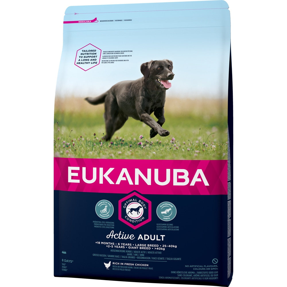 Torrfoder Hund  Adult Large Breed 15 kg Eukanuba