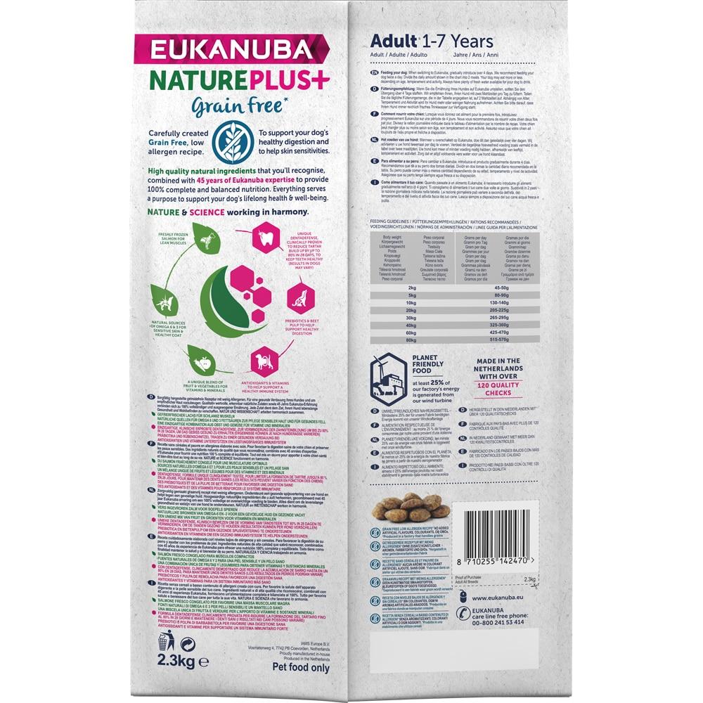 Torrfoder Hund  Nature + Grain Free 2,3 kg Eukanuba