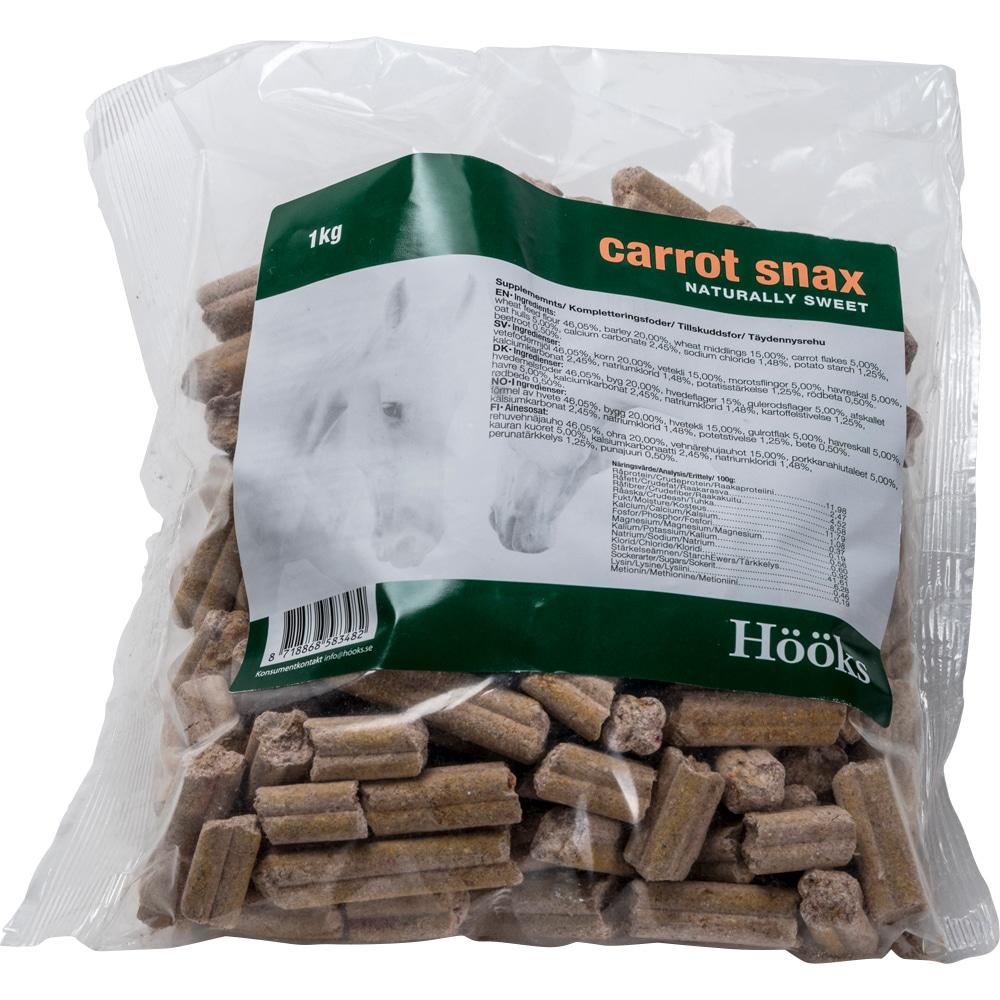Hästgodis  Carrot snax natural 1 kg Hööks