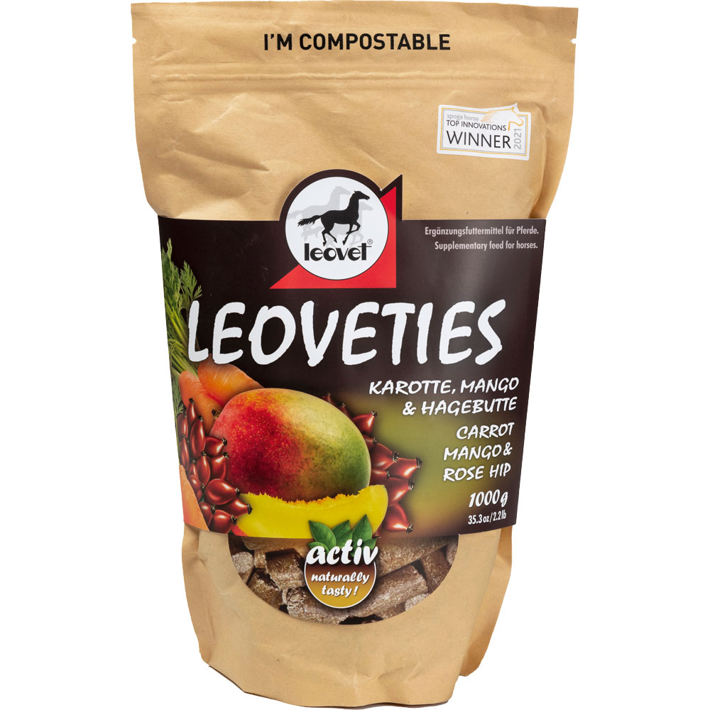 Hästgodis  Leoveties Carrot, Mango & Rosehip leovet®
