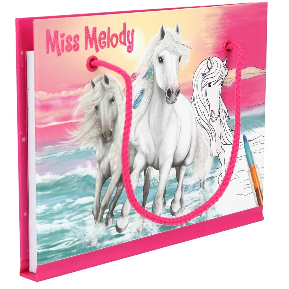 Målarbok   Miss Melody