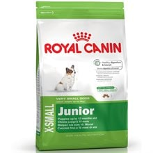 Torrfoder Hund  X-Small Junior 3 kg Royal Canin